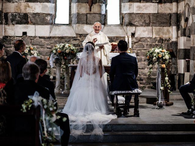 Il matrimonio di Gaspare e Chiara a Portovenere, La Spezia 51