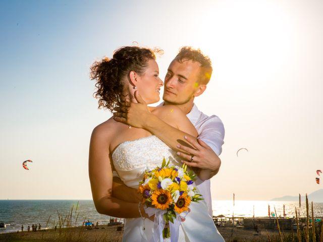 le nozze di Eliane e Moreno