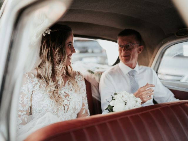 Il matrimonio di Aurelie e Massimo a Maccarese, Roma 33