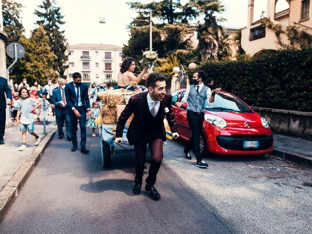 Il matrimonio di Elena e Davide a Padova, Padova 35