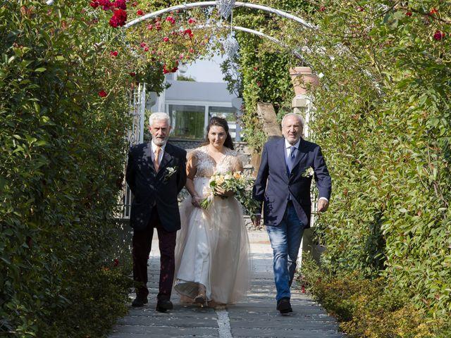 Il matrimonio di Silvia e Masud a Senago, Milano 9