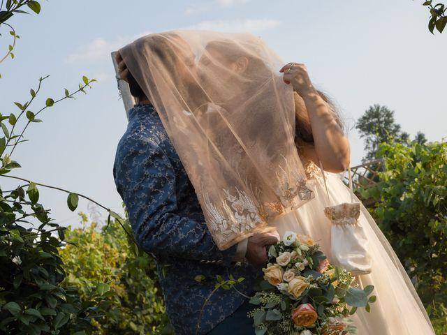 Il matrimonio di Silvia e Masud a Senago, Milano 33