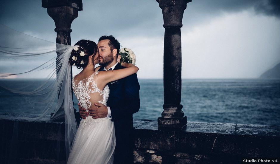 Il matrimonio di Gaspare e Chiara a Portovenere, La Spezia