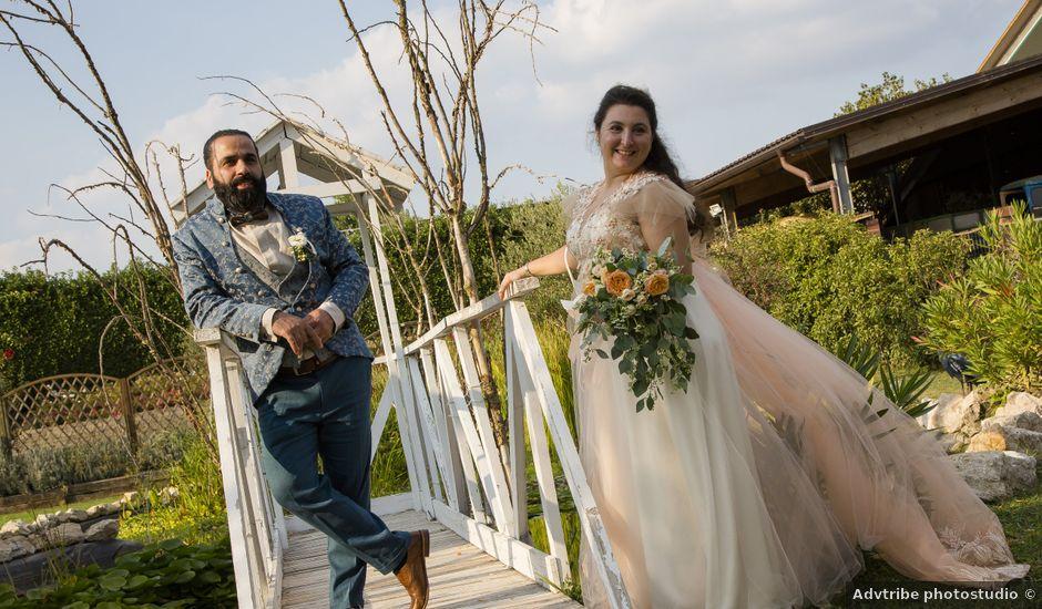 Il matrimonio di Silvia e Masud a Senago, Milano