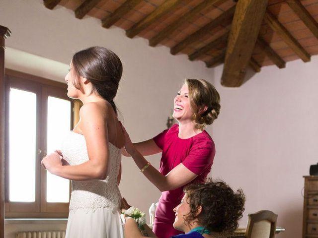 Il matrimonio di Claudio e Laura a Cortona, Arezzo 12