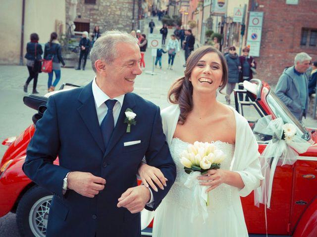 Il matrimonio di Claudio e Laura a Cortona, Arezzo 24