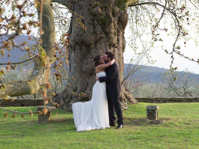 Il matrimonio di Claudio e Laura a Cortona, Arezzo 63