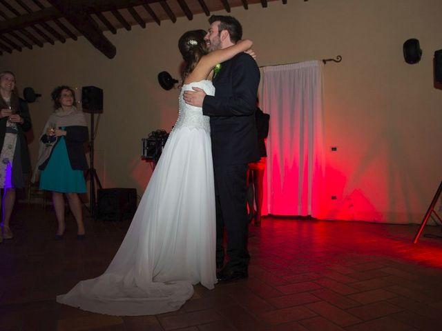 Il matrimonio di Claudio e Laura a Cortona, Arezzo 89