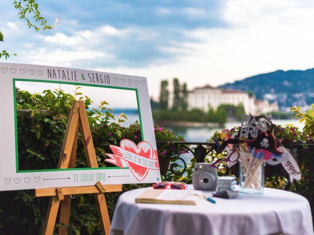 Il matrimonio di Sergio e Natalie a Stresa, Verbania 46