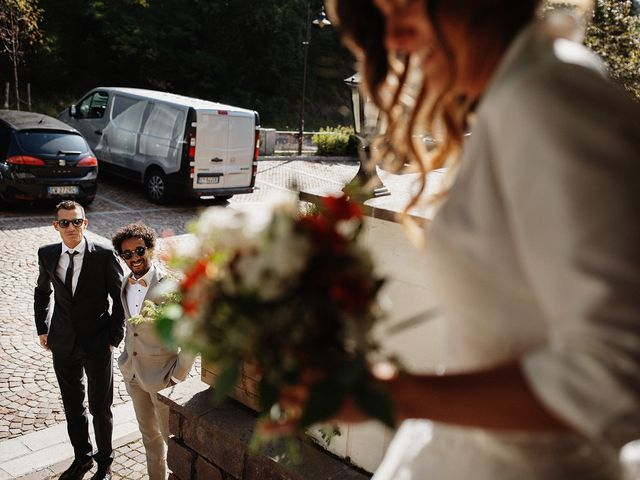 Il matrimonio di Davide e Silvia a Tesero, Trento 13