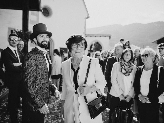 Il matrimonio di Davide e Silvia a Tesero, Trento 17