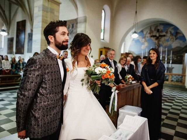 Il matrimonio di Davide e Silvia a Tesero, Trento 20