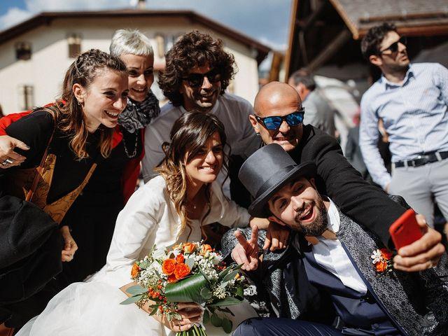 Il matrimonio di Davide e Silvia a Tesero, Trento 26