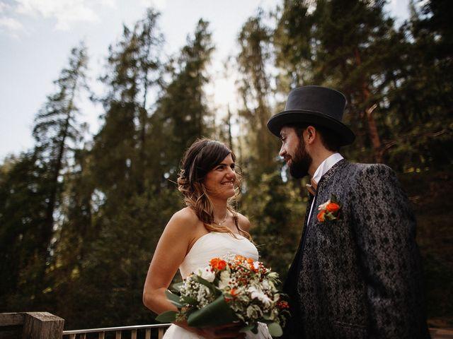 Il matrimonio di Davide e Silvia a Tesero, Trento 34