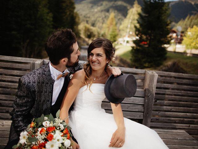 Il matrimonio di Davide e Silvia a Tesero, Trento 35
