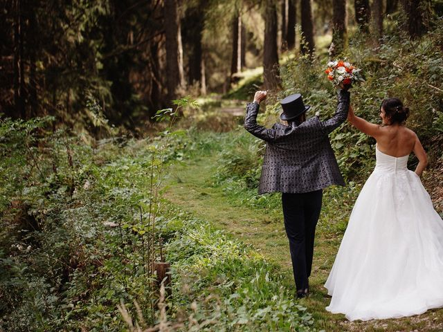Il matrimonio di Davide e Silvia a Tesero, Trento 37
