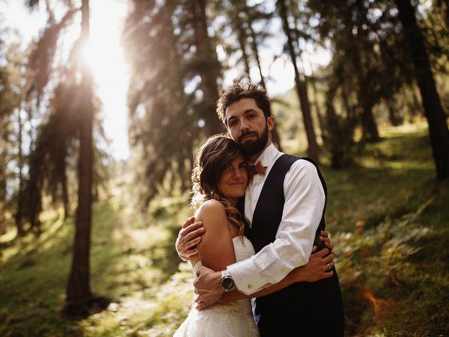 Il matrimonio di Davide e Silvia a Tesero, Trento 44