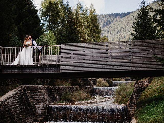 Il matrimonio di Davide e Silvia a Tesero, Trento 46