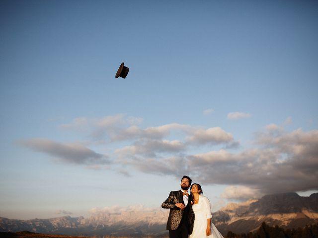Il matrimonio di Davide e Silvia a Tesero, Trento 48