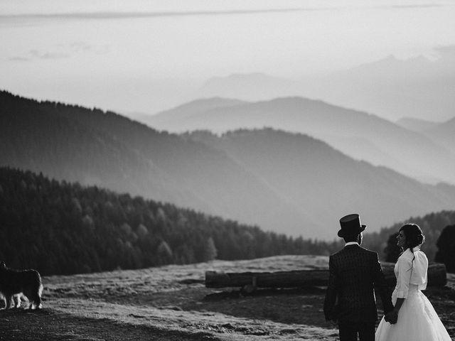 Il matrimonio di Davide e Silvia a Tesero, Trento 55
