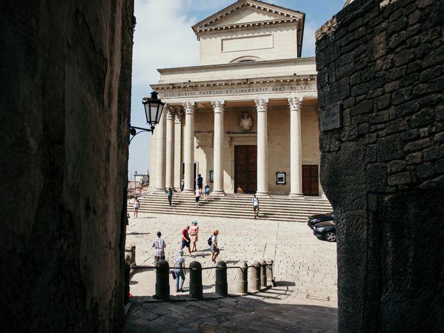 Il matrimonio di Alessandra e Simone a San Marino, San Marino 38