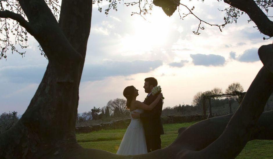 Il matrimonio di Claudio e Laura a Cortona, Arezzo