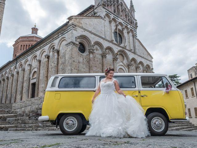 Il matrimonio di Andrea e Chiara a Massa Marittima, Grosseto 14