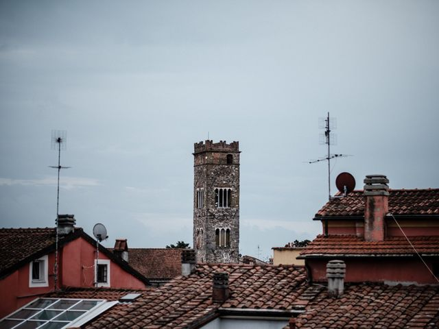 Il matrimonio di Giuliano e Silvia a Viareggio, Lucca 3