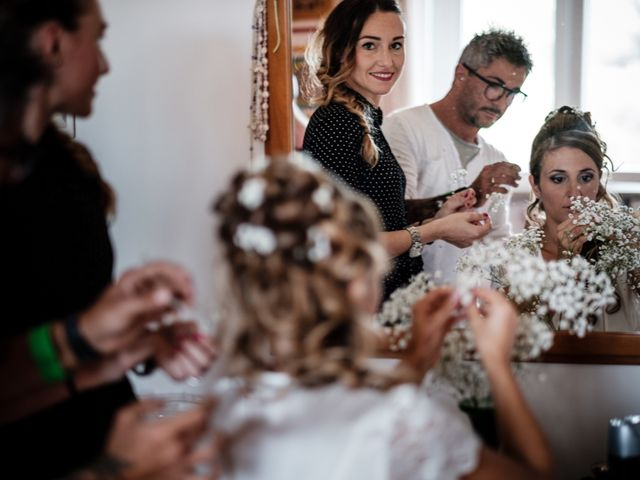 Il matrimonio di Giuliano e Silvia a Viareggio, Lucca 12