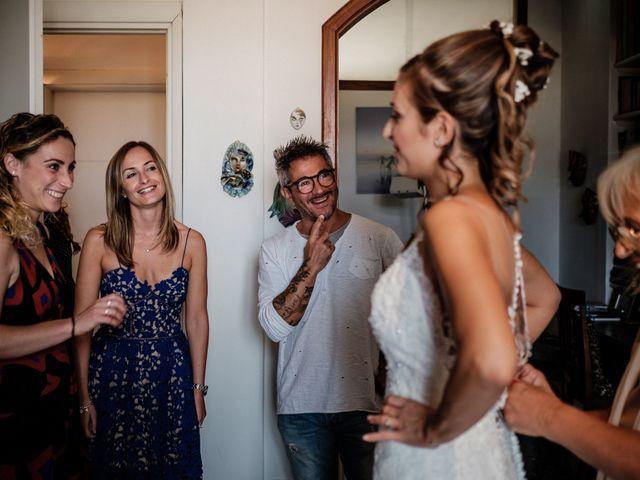 Il matrimonio di Giuliano e Silvia a Viareggio, Lucca 31
