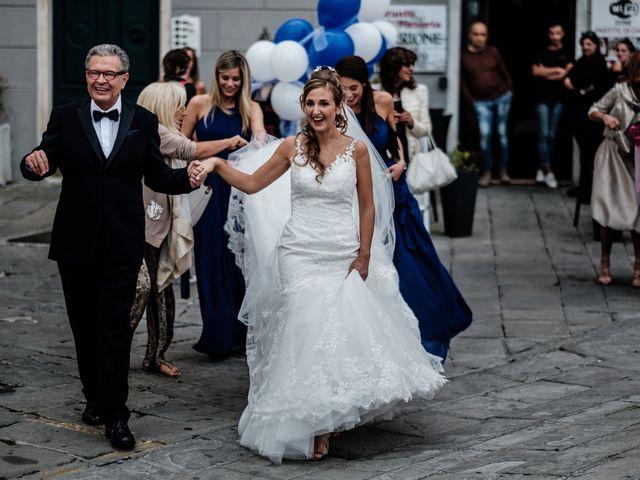 Il matrimonio di Giuliano e Silvia a Viareggio, Lucca 37