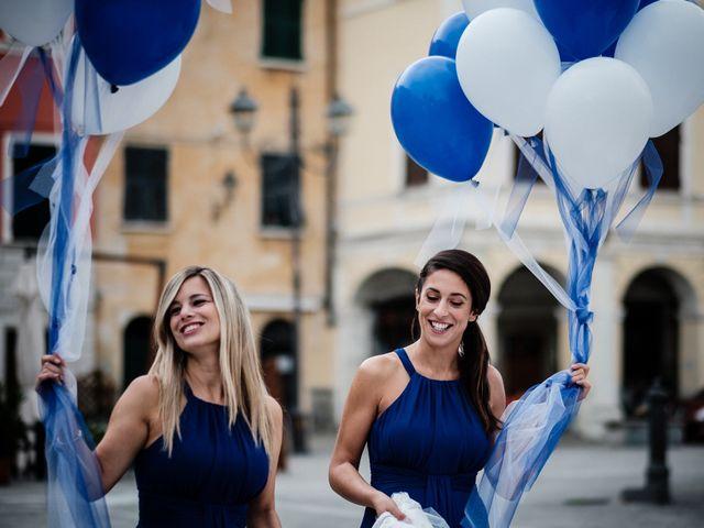 Il matrimonio di Giuliano e Silvia a Viareggio, Lucca 38