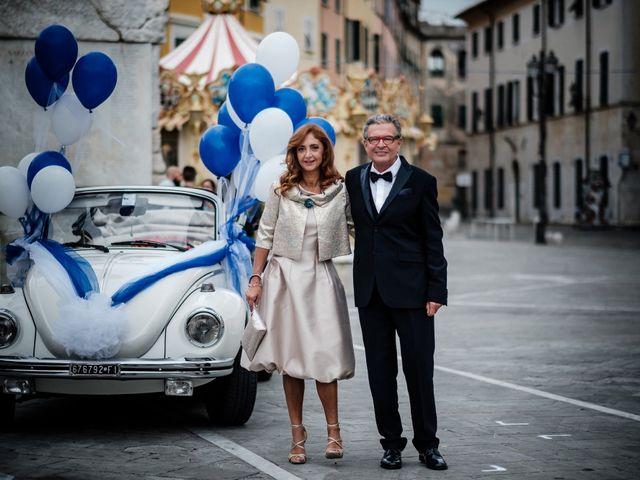 Il matrimonio di Giuliano e Silvia a Viareggio, Lucca 39