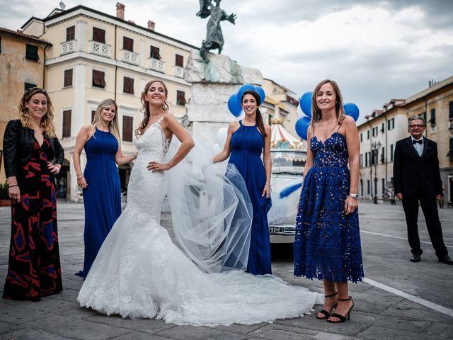 Il matrimonio di Giuliano e Silvia a Viareggio, Lucca 40