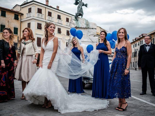 Il matrimonio di Giuliano e Silvia a Viareggio, Lucca 41