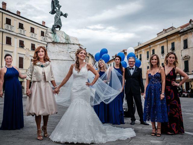 Il matrimonio di Giuliano e Silvia a Viareggio, Lucca 42