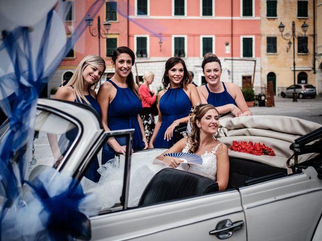 Il matrimonio di Giuliano e Silvia a Viareggio, Lucca 44