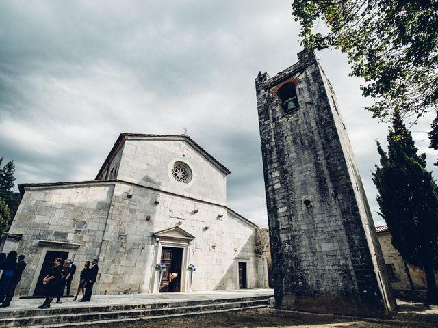 Il matrimonio di Giuliano e Silvia a Viareggio, Lucca 48