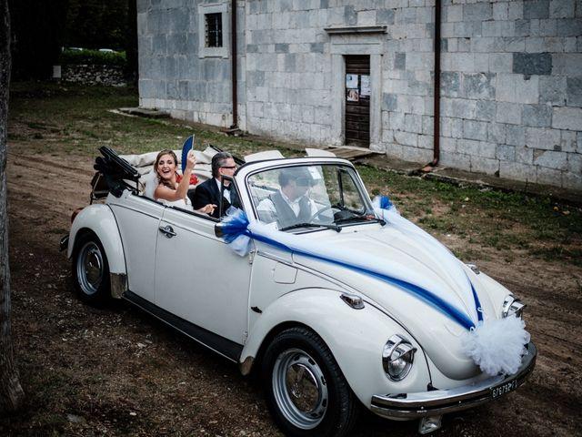 Il matrimonio di Giuliano e Silvia a Viareggio, Lucca 55