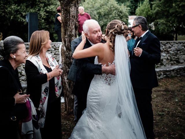 Il matrimonio di Giuliano e Silvia a Viareggio, Lucca 56