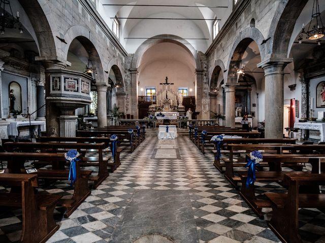 Il matrimonio di Giuliano e Silvia a Viareggio, Lucca 58