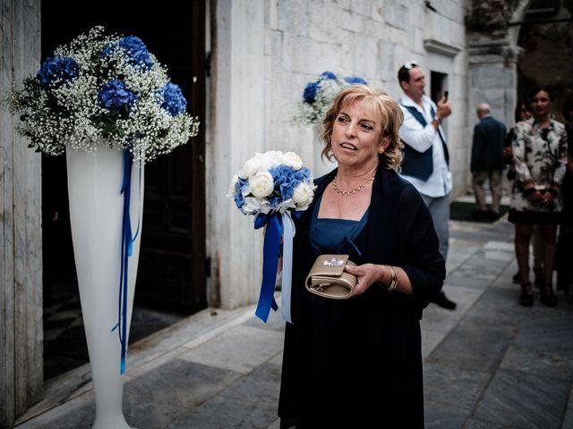 Il matrimonio di Giuliano e Silvia a Viareggio, Lucca 65