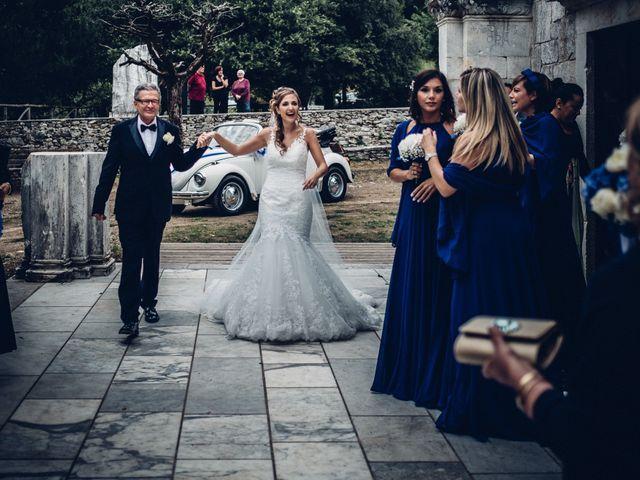 Il matrimonio di Giuliano e Silvia a Viareggio, Lucca 66