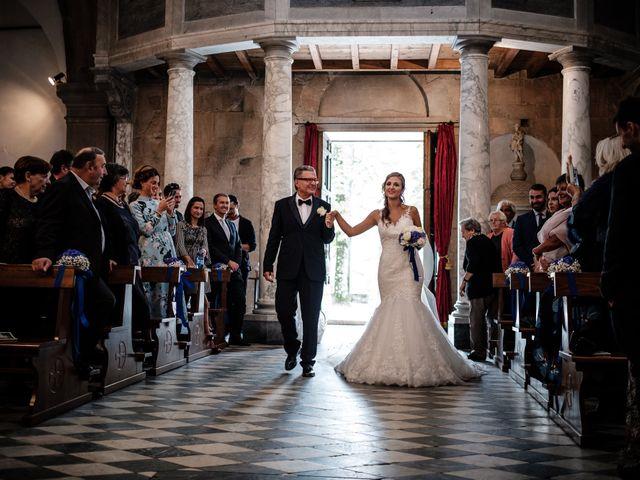 Il matrimonio di Giuliano e Silvia a Viareggio, Lucca 70