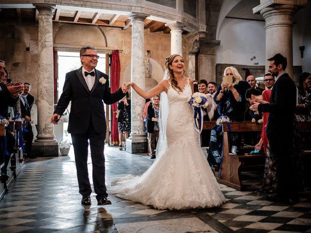 Il matrimonio di Giuliano e Silvia a Viareggio, Lucca 71