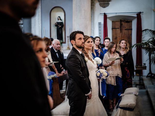 Il matrimonio di Giuliano e Silvia a Viareggio, Lucca 79
