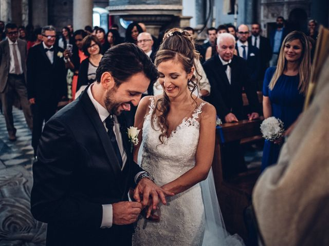 Il matrimonio di Giuliano e Silvia a Viareggio, Lucca 85
