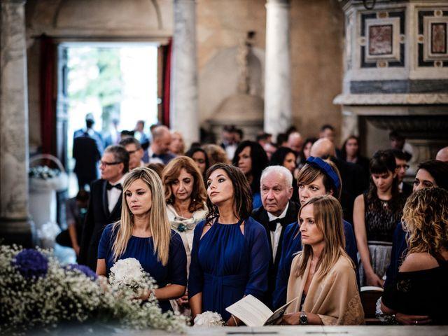Il matrimonio di Giuliano e Silvia a Viareggio, Lucca 90