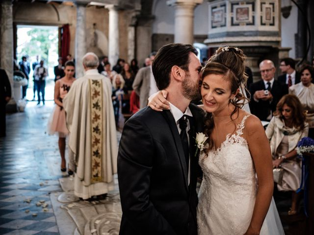 Il matrimonio di Giuliano e Silvia a Viareggio, Lucca 91