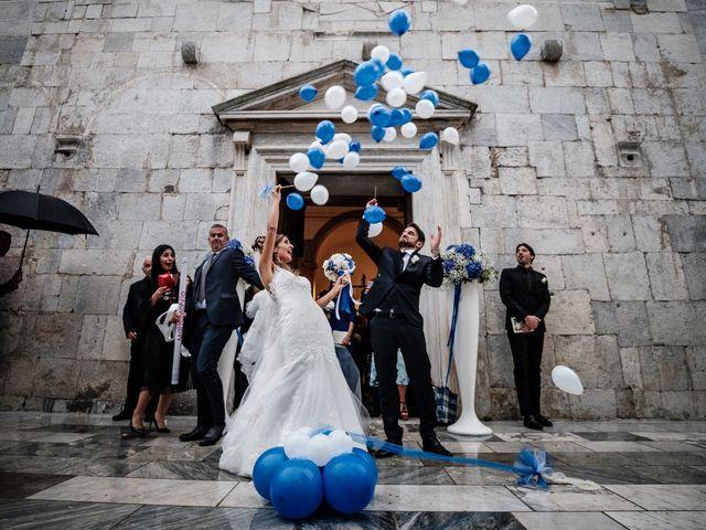Il matrimonio di Giuliano e Silvia a Viareggio, Lucca 103